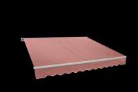 Markýza 3,95x2,5m BORDO (P4514)