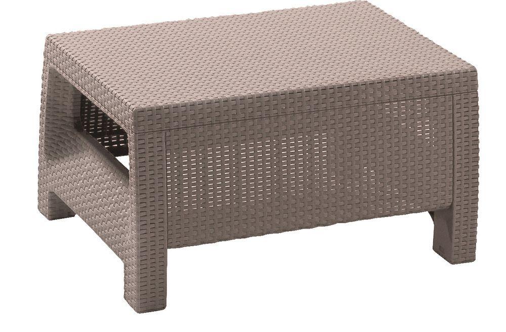 Zahradní stůl CORFU – cappucino