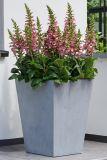 Plastový květináč BETON CONIC - 40 x 40 cm