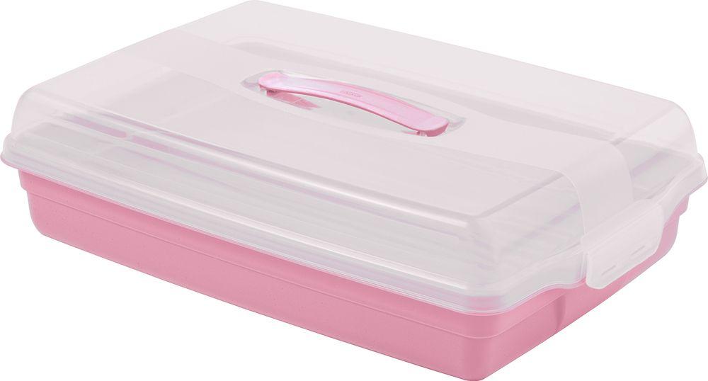 Plastový PARTY BOX – růžový