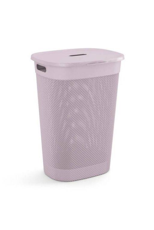 Plastový FILO koš na prádlo – růžový