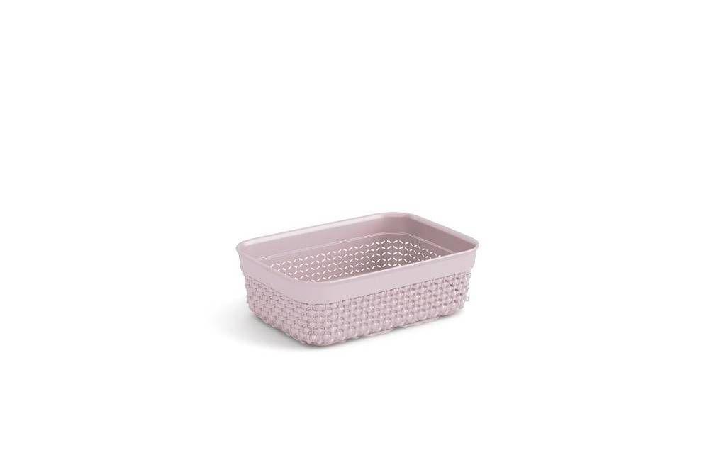 Plastový organizér FILO – růžový