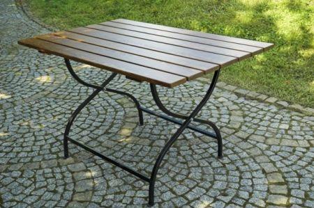 Dřevěný skládací zahradní stůl WEEKEND FSC