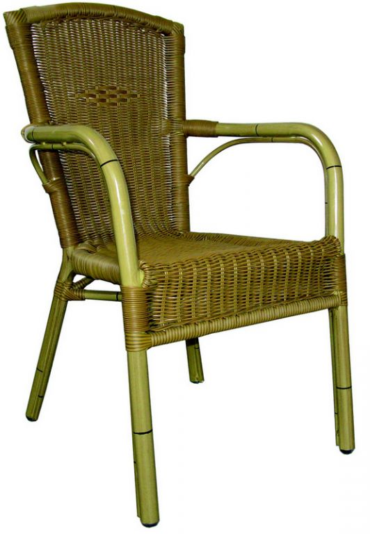 Zahradní židle stohovatelná ROYAL natur