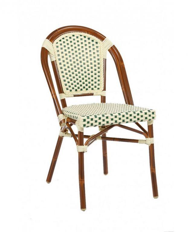 Zahradní židle stohovatelná MILANO