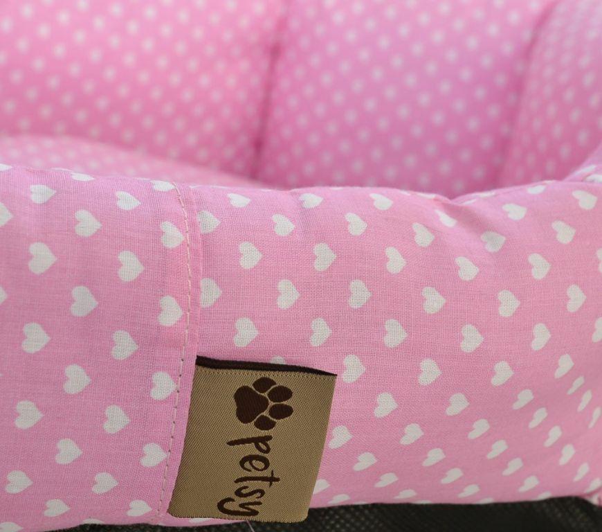 Pelíšek pro psa Pinky – 65 cm