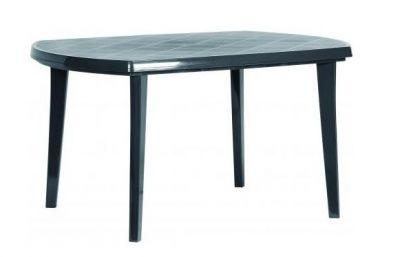 Zahradní plastový stůl ELISE antracit
