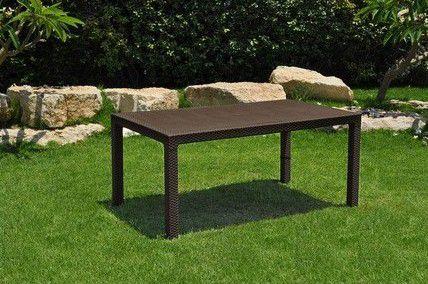 Zahradní stůl MELODY hnědý