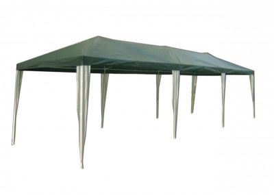 Zahradní stan altán 3902-PE  zelený 3 x 9 m