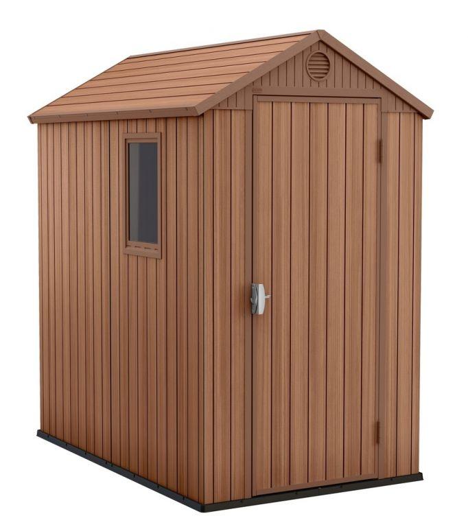 Zahradní dřevěný domek DARWIN - 205 x 126 x 185 cm