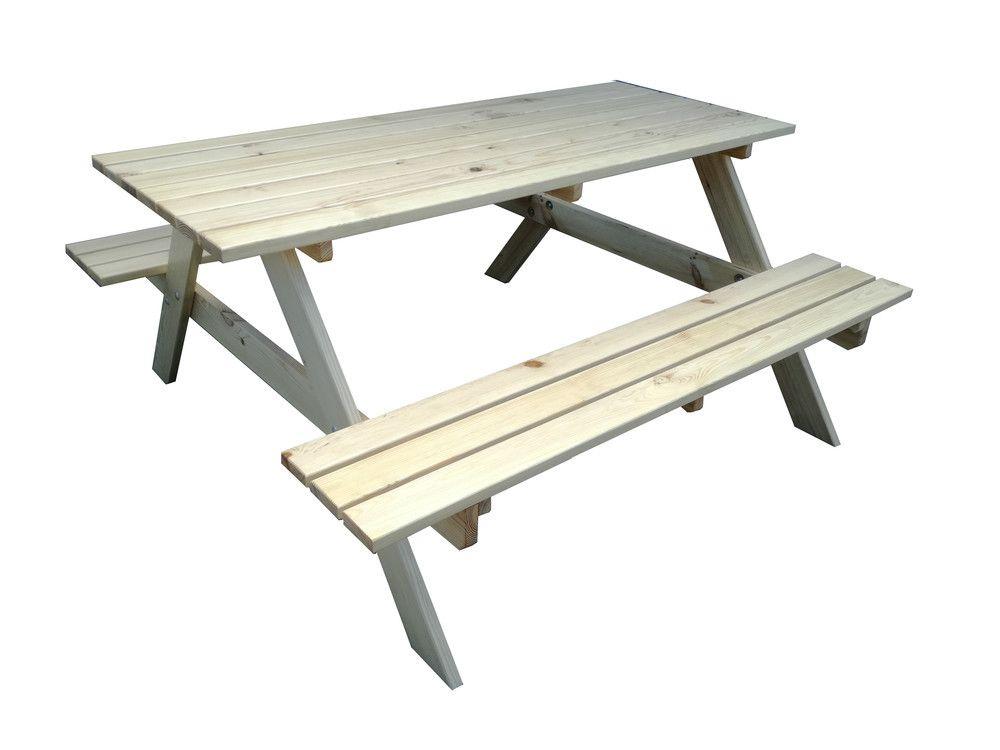 Zahradní dřevěný set PIKNIK - 160 cm