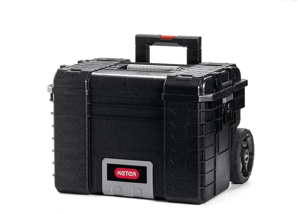 """Úložný box na nářadí s kolečky RIGID GEAR -  22"""""""