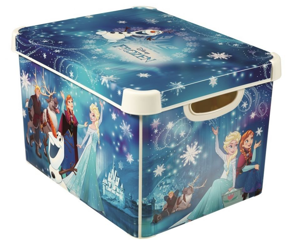 "CURVER úložný box DECOBOX – L, ""FROZEN"""