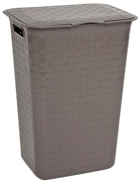 Curver koš na špinavé prádlo - 48 l, hnědý