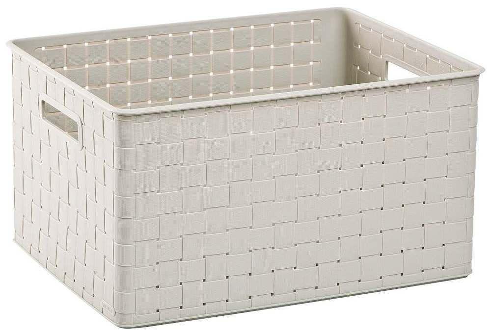 Úložný box NUANCE – 30 L, krémový