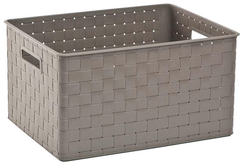 Úložný box NUANCE – 30 L, hnědý