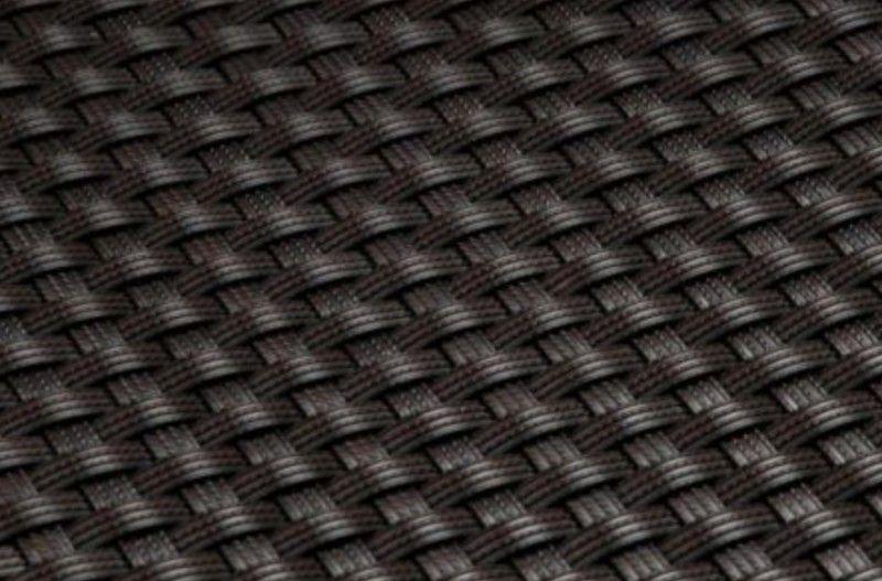 Rattan květináč 80x16x21 hnědý
