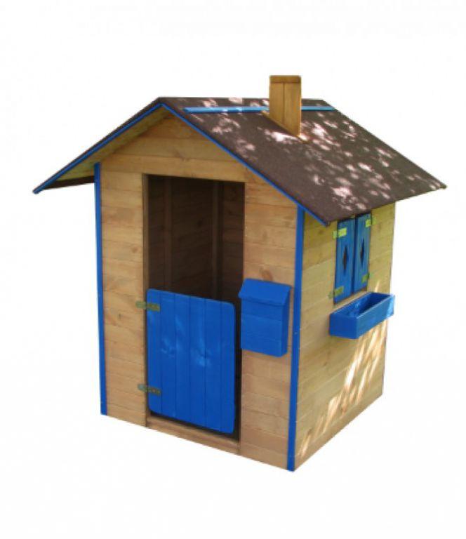 Dětský dřevěný domek na zahradu