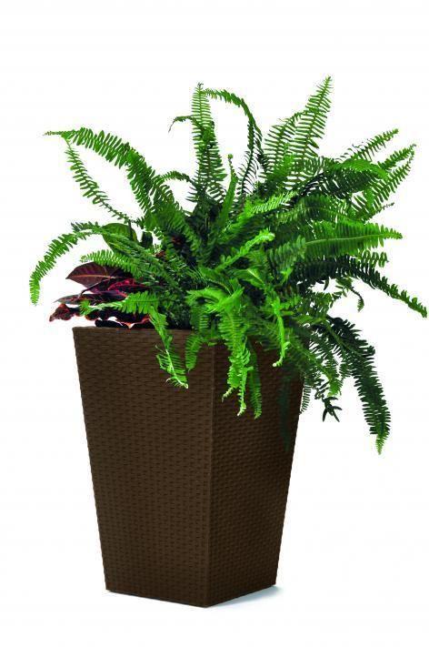 Květináč Rattan planter, velikost L