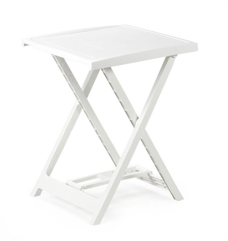 Plastový stolek ARNO - bílý