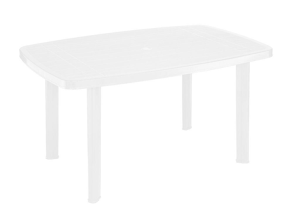 Plastový stůl FARO - bílý
