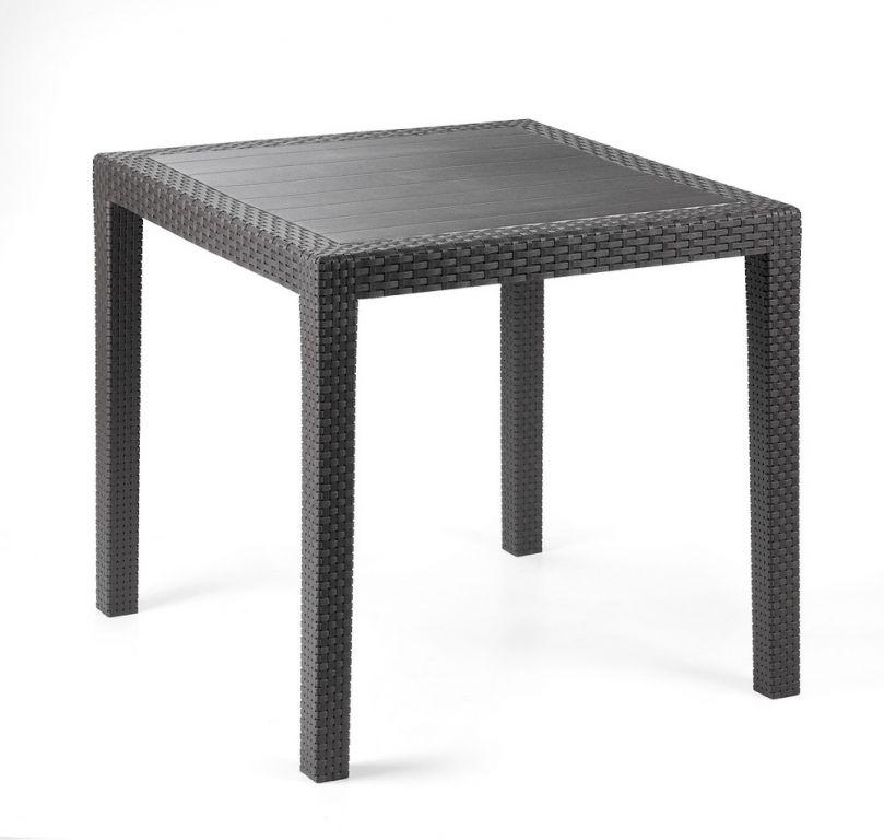 Plastový stůl King, grafit, 72 cm